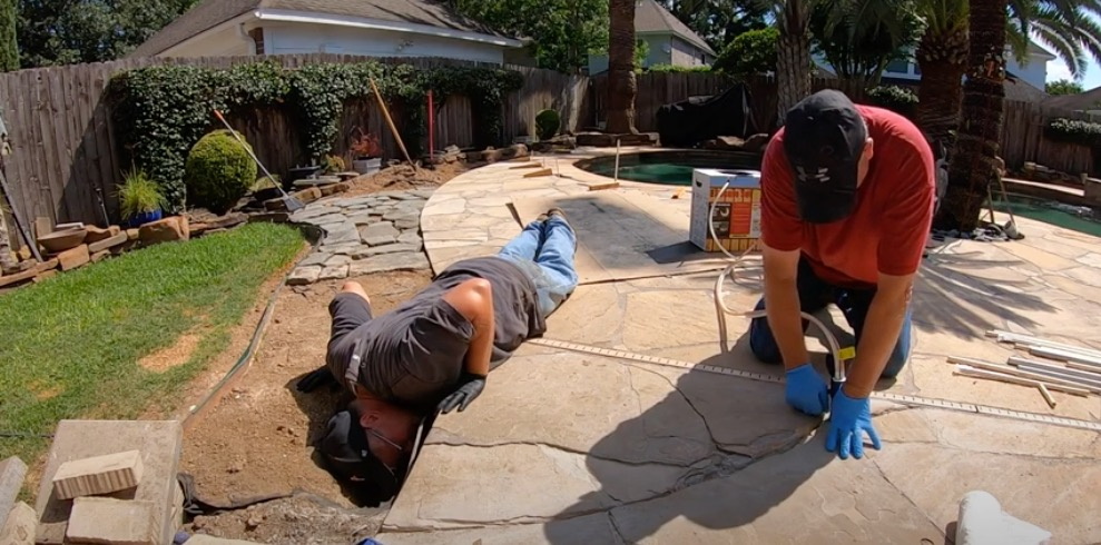 Fill Voids Under Concrete, Flagstone, Pool Decks and More with Secure Set Spray Foam